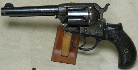 Colt Lightning .38 Colt Caliber DA Double Action Revolver S/N 14
